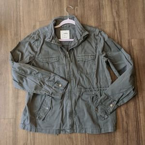 Sonoma Gray Utility Field Jacket Cotton